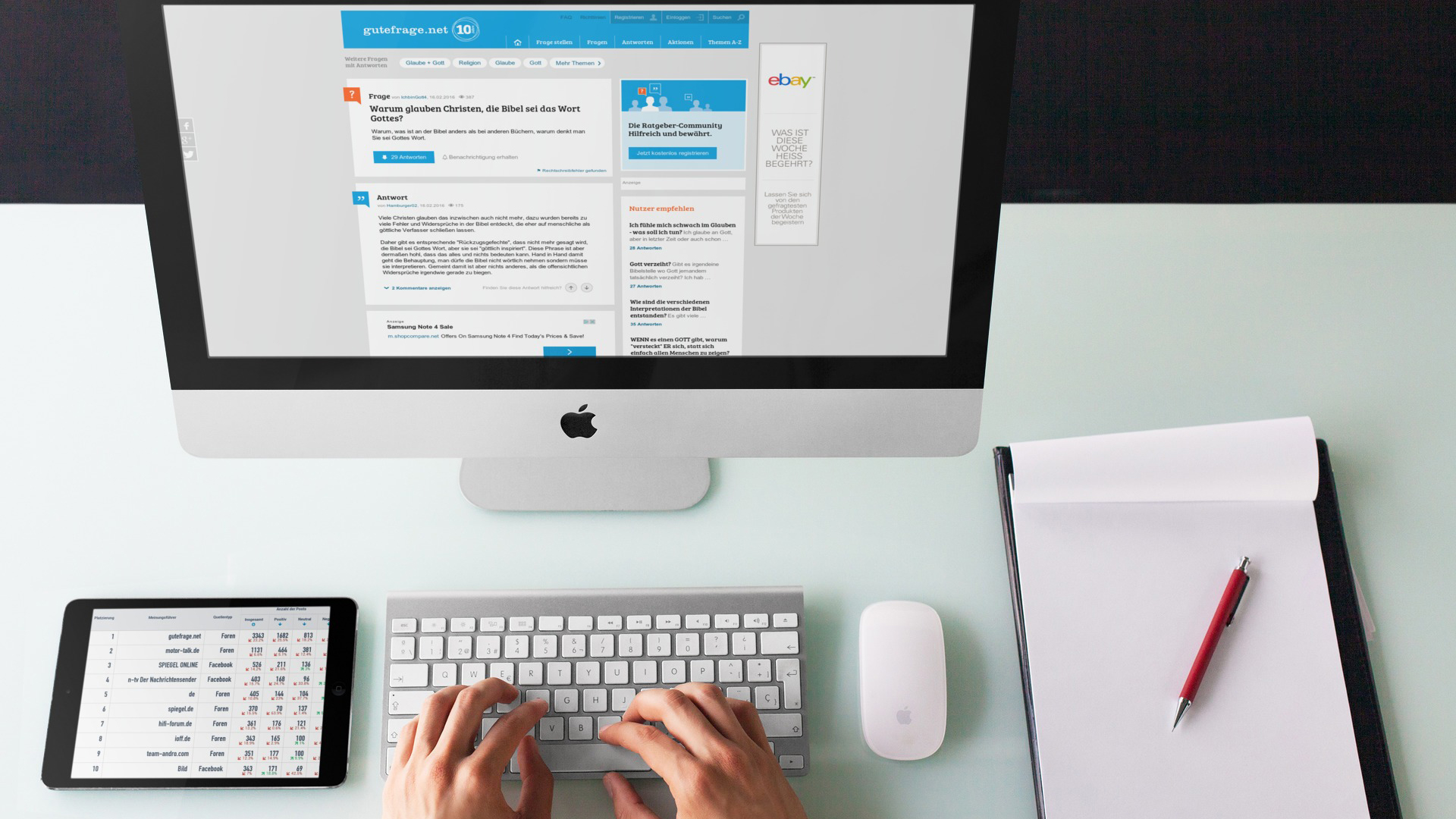 Internetseelsorge mit Echtzeit Social Media Monitoring
